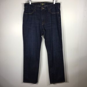 Lucky Brand 363 Vintage Straight Jeans 33x30
